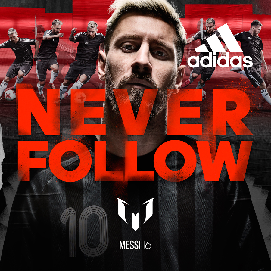 Never follow Messi